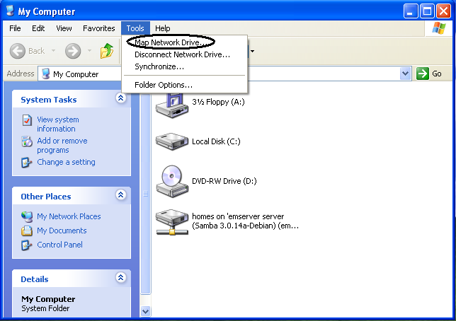 How to Use Windows XP: Setting Up a Network Printer Map Network Drive In Windows Xp on map network drive on winxp, mapping network on xp, map network drive mac, map drive windows 7, map windows network icons, map network drive windows mobile, map network drive windows 10, map network drive server 2012, map in windows xp networking, map a network drive win7,